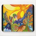 Das Traumphantasie-Kunst-moderne psychedelische Mousepad