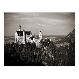 Das Traumschloss von König Ludwig Postkarte