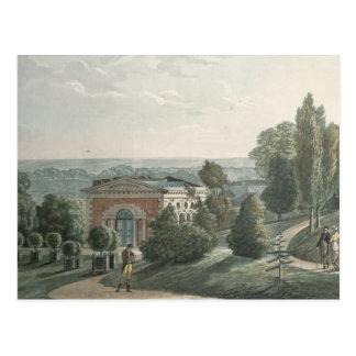 Das Treibhaus im Jardin des Plantes, Paris Postkarte