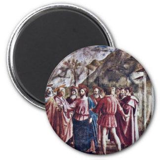 Das Tribut-Geld durch Masaccio (beste Qualität) Kühlschrankmagnete