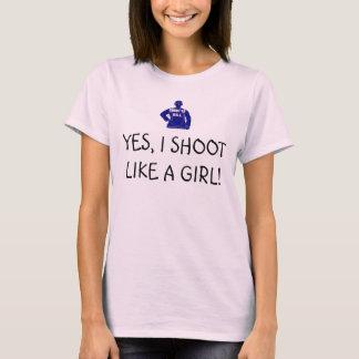 das Trieb, zum JA SCHIESSE ICH zu töten WIE EIN T-Shirt