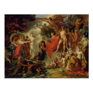 Das Triumph der Zivilisation, c.1794-98 Postkarte