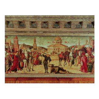 Das Triumph von St George, 1501-7 Postkarte