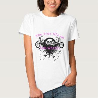 Das Ture Leben auf Rad zwei T Shirt