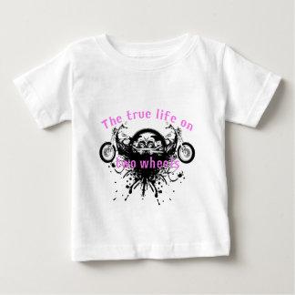 Das Ture Leben auf Rad zwei T-Shirts
