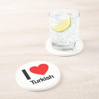 das Türkische der Liebe I Getränkeuntersetzer