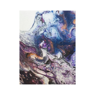 Das Universumabstrakte Acrylmalerei canvaprint Leinwanddruck