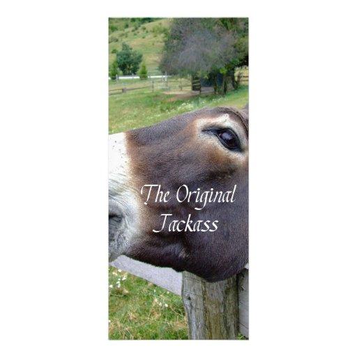 Das ursprünglicher Esel-lustige Esel-Maultier-Vieh Ankündigungen