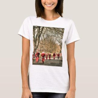 Das Vater-Weihnachten 10km laufen in Greenwich, T-Shirt