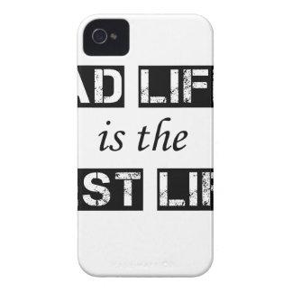 das Vatileben ist das beste Leben iPhone 4 Cover
