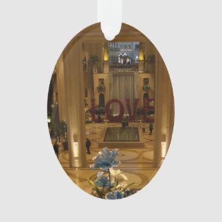 Das venezianische Las Vegas, LIEBE Verzierung Ornament