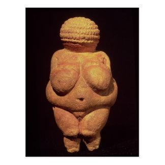 Das Venus von Willendorf, Ergiebigkeits-Symbol Postkarte