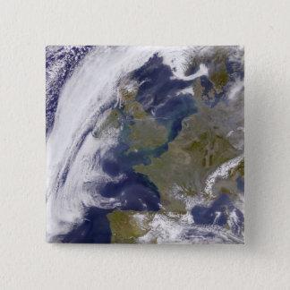 Das Vereinigte Königreich Quadratischer Button 5,1 Cm