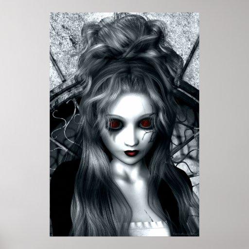 Das vergessene Sturm-gotische Grafik-Plakat