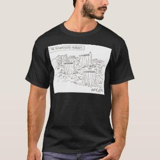 Das verkleinerte foret T-Shirt