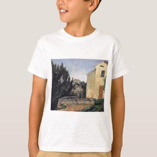 Das verlassene Haus durch Paul Cezanne T-Shirt