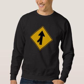 Das verlassene Mischen, handelt Warnzeichen, USA Sweatshirt