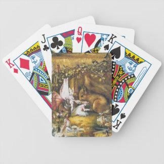 Das verletzte Eichhörnchen Bicycle Spielkarten