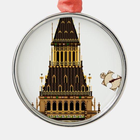 Das vermisste Stück Silbernes Ornament