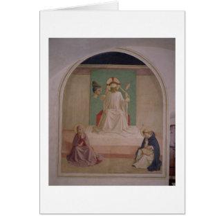 Das Verspotten von Christus mit der Jungfrau und Karte