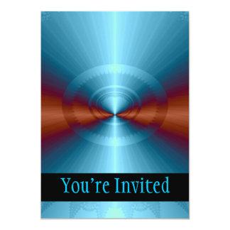 Das viertes Maß-Fraktal 12,7 X 17,8 Cm Einladungskarte