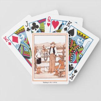 Das Vintage Buch des Kindes - sprechend mit dem Bicycle Spielkarten
