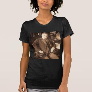 Das Vintage Porträt Stier-Elch-Teddy Roosevelt T-Shirt