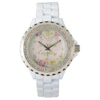 Das Vintage TIMING des Blumengottes ist alles Armbanduhr