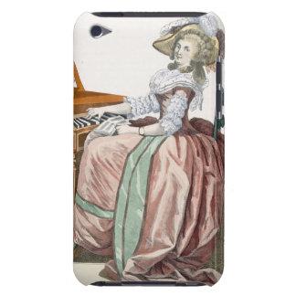 """Das Virtuosa in einem Kleid """"ein l'Anglaise"""" mit iPod Case-Mate Hüllen"""