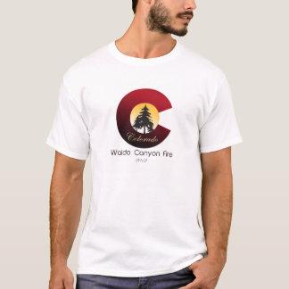Das Waldo Schlucht-Feuer T-Shirt