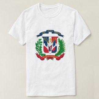 Das Wappen der Dominikanischen Republik T - Shirt