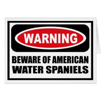 Das Warnen PASSEN von den AMERIKANISCHEN grüßenden Karte