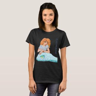 Das Wecken: Das T-Stück Catherine-Frauen T-Shirt