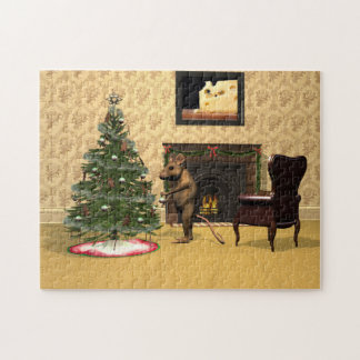 Das Weihnachten der Maus Puzzle