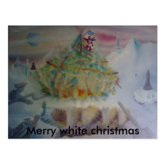 das Weihnachten der Regentschaft, Postkarte
