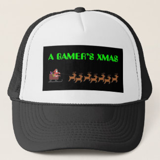 Das Weihnachten eines Gamers Truckerkappe