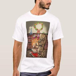 Das Weihnachten zeichnet Rache-Shirt auf T-Shirt