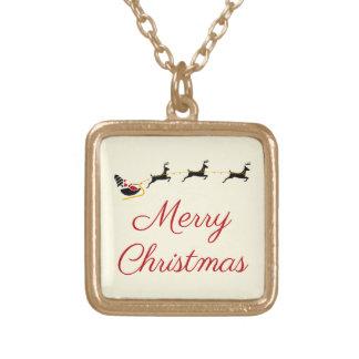 Das Weihnachtsthema I Vergoldete Kette