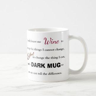 Das Wein/Kaffeeserenity-Gebet - Tasse