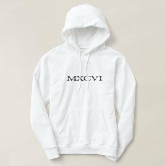 Das Weiß der Hauben-MXCVI Hoodie