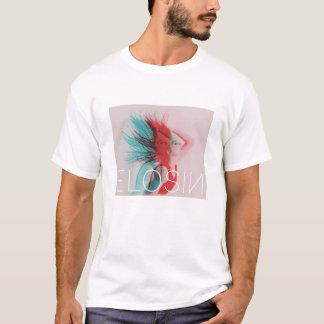Das weiße ELOSIN der Männer Zwei-Tonte Shirt