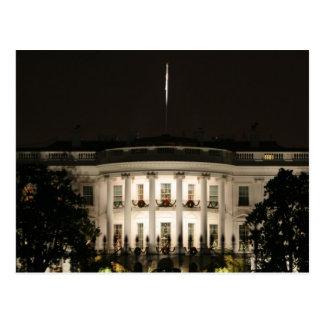 Das Weiße Haus feiert Weihnachten Postkarte