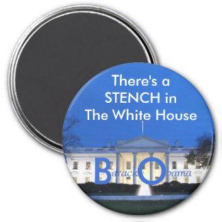 Das Weiße Haus, gibt es ein STENC… - Besonders ang Runder Magnet 7,6 Cm