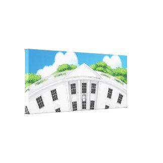 Das Weiße Haus Leinwanddruck