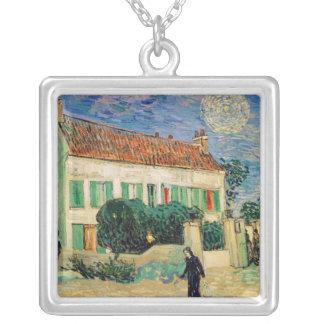 Das Weiße Haus Vincent van Goghs | nachts, 1890 Versilberte Kette
