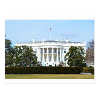 Das Weiße Haus vom Rasen Postkarte
