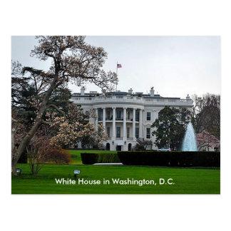 Das Weiße Haus, Washington, DC Postkarte