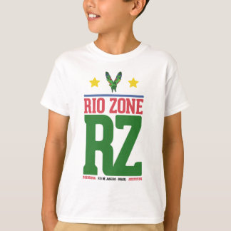 das weiße Hemd druckt den farbigen color Fluss T-Shirt