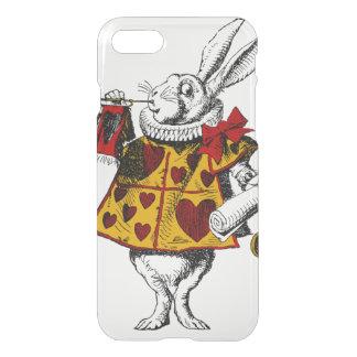 Das weiße Kaninchen iPhone 8/7 Hülle