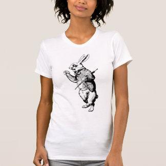 Das weiße Kaninchen - mit Tinte geschwärzt T-Shirt